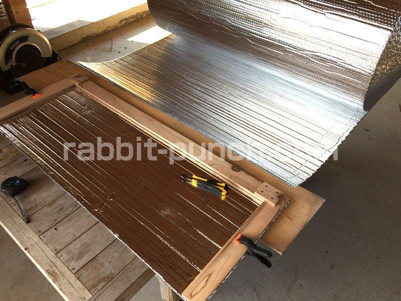 梁見せ天井断熱diy 遮熱シートのサーモバリアはスタイロフォームより低コスト スタイロフォーム 梁 断熱