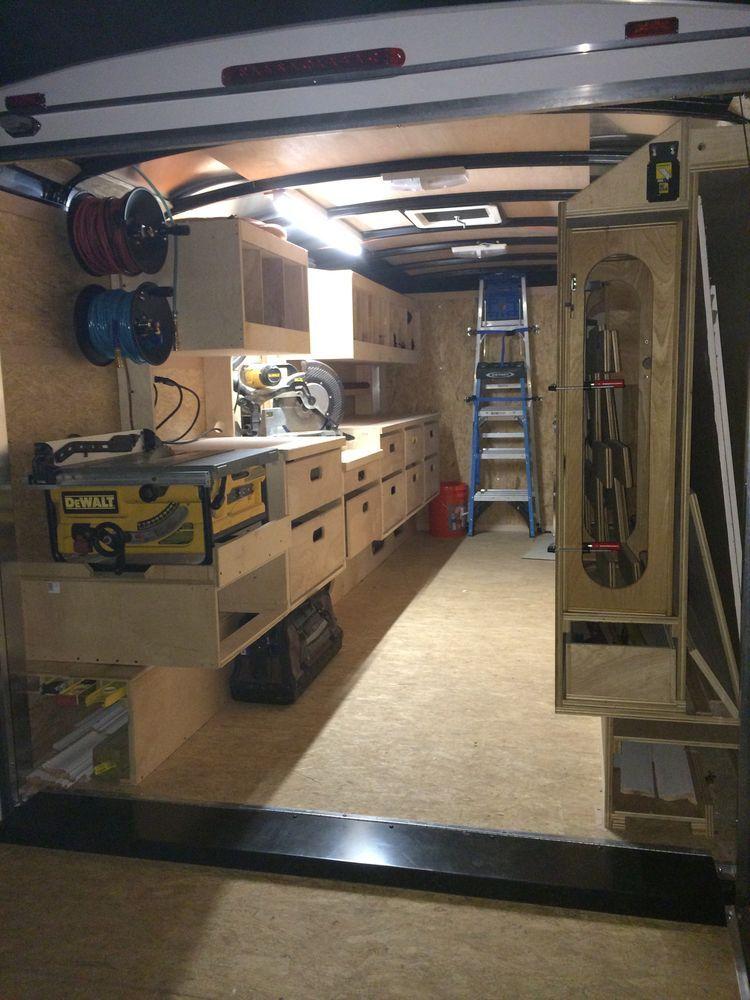 pingl par chris torry sur work pinterest camion amenager am nagement et remorque. Black Bedroom Furniture Sets. Home Design Ideas