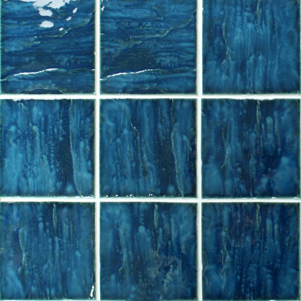 If You Are Looking For An Elegant Pool Tile For Your Swimming Pool Then This Ocean Blue One Will Be Your Good Choice It Mosaic Pool Pool Deck Tile Pool Tile