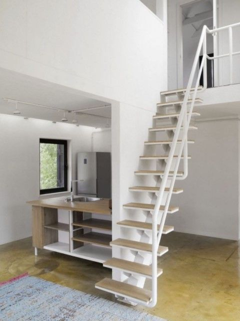(29+) Staircase Ideas For Small Spaces (FASCINATING!) | Staircase Ideas, Small  Spaces And Staircases