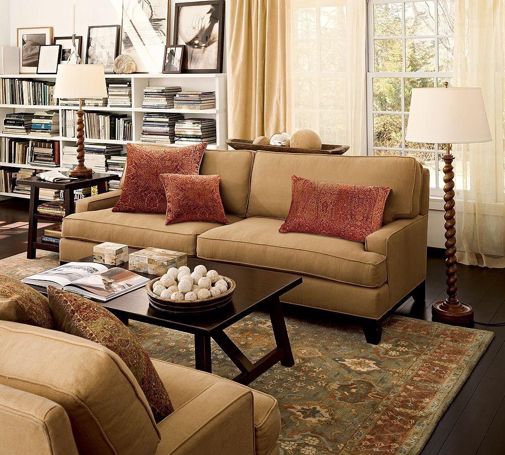 35 Elegant Living Room Ideas Pottery Barn   Elegant living ...