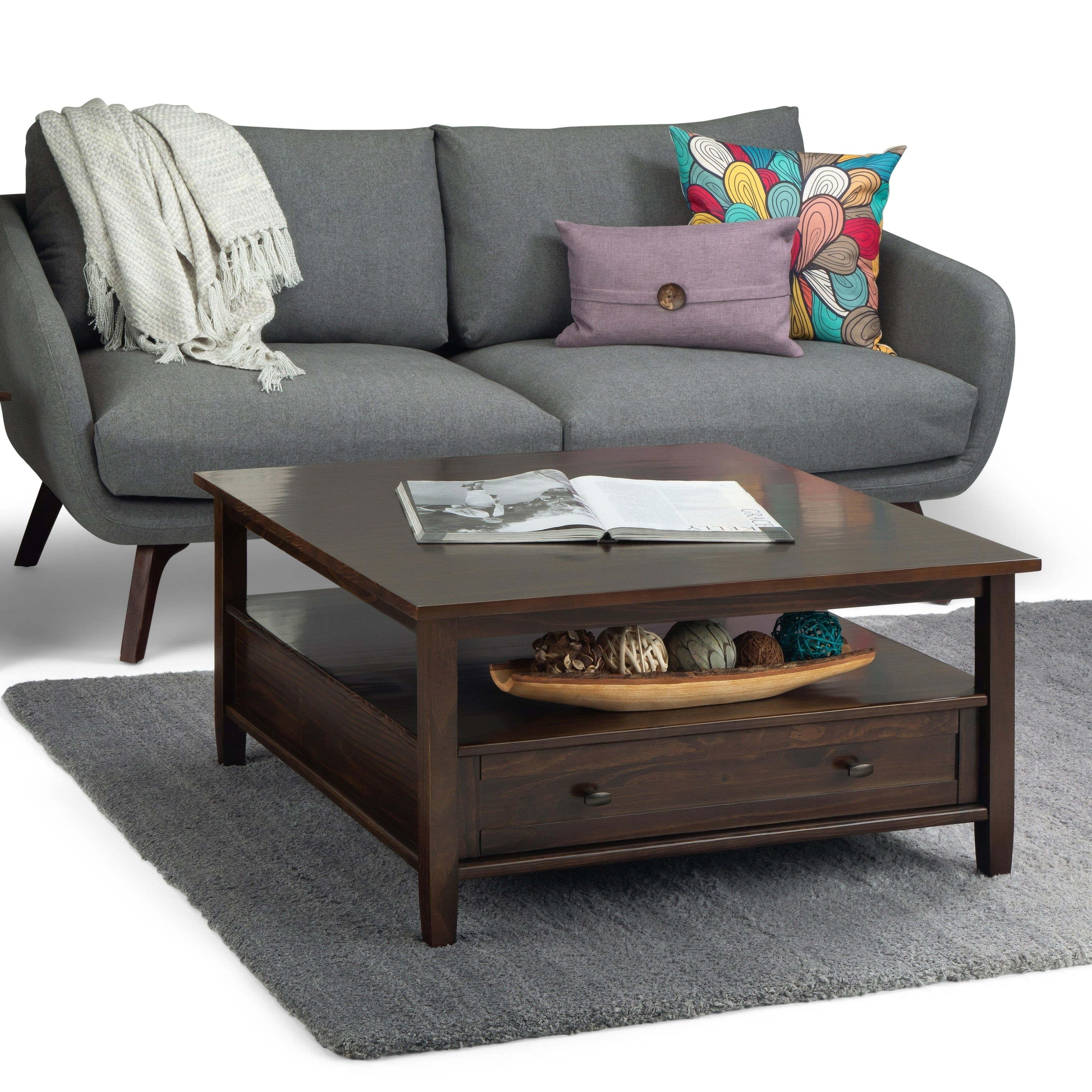 Overstock Com Online Shopping Bedding Furniture Electronics Jewelry Clothing More Coffee Table Square Wood Coffee Table Rustic Coffee Table [ 3500 x 3500 Pixel ]