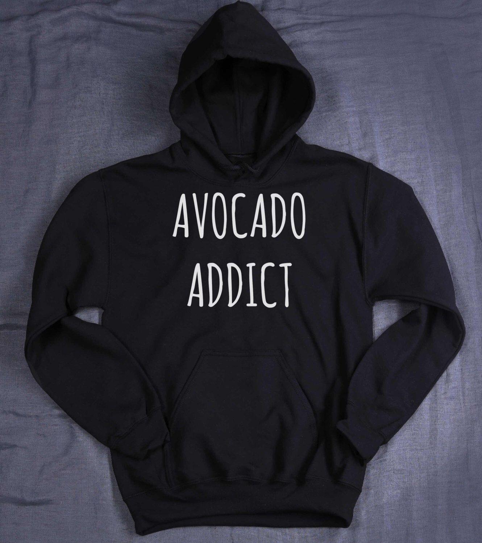 Avocado Addict Sweater - Avocado Addict - Avocado Lover Sweater - Tumblr Sweater - Avocado Sweatshirt - Avocado Lover Gift - Avocado Y6Ch3cZ53t