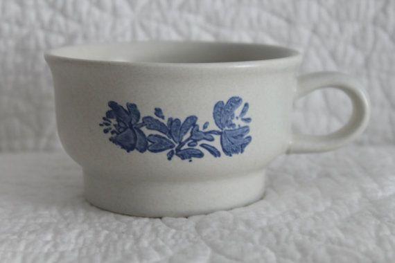 Yorktowne by Pfaltzgraff Stoneware Tea Cup by CRAZYMARYSFINDS
