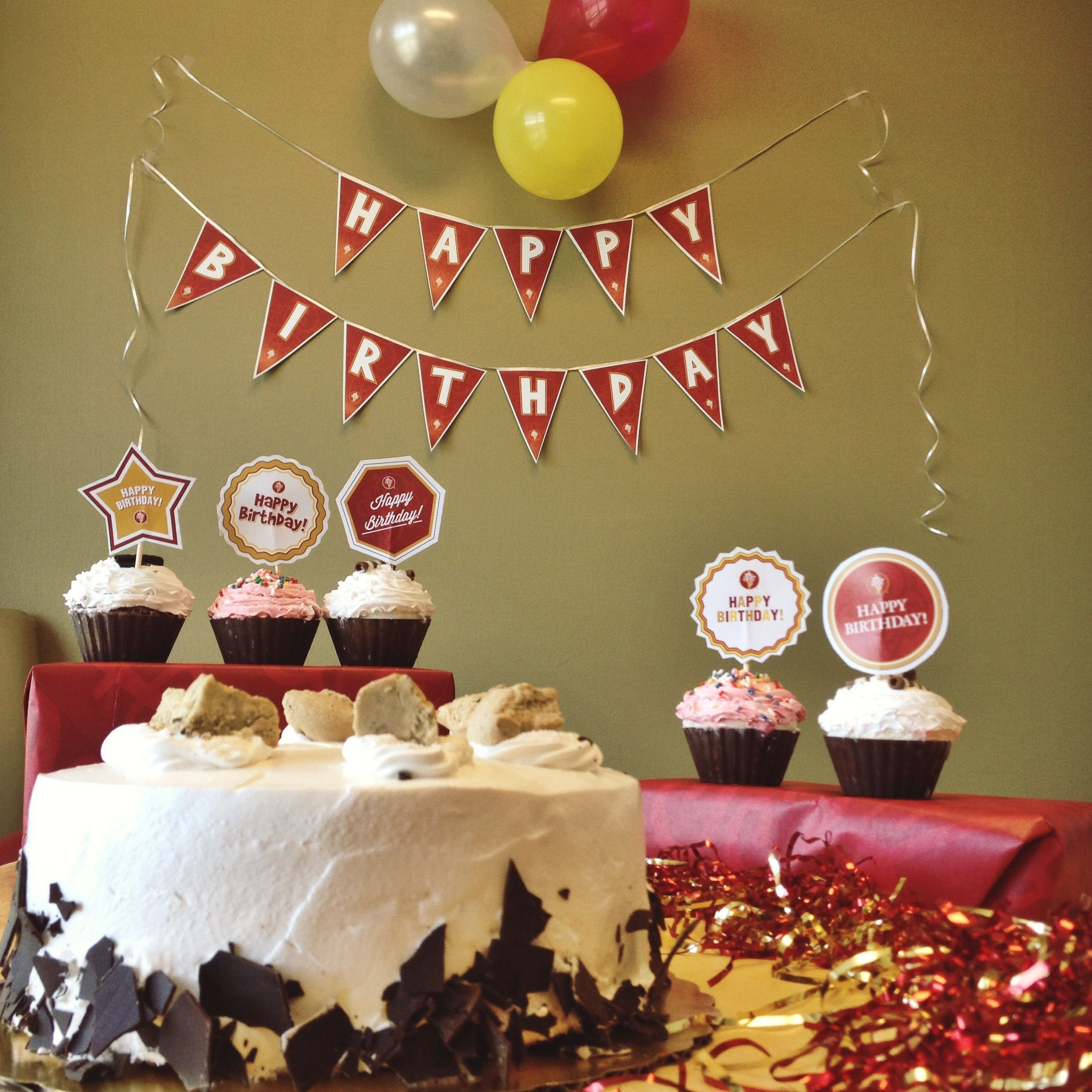 A Party Without Cake Is Just Meeting Our Cookie Dough DeliriumTM And Ice Cream Cupcakes Can Be Ordered Online At Coldstonecakes