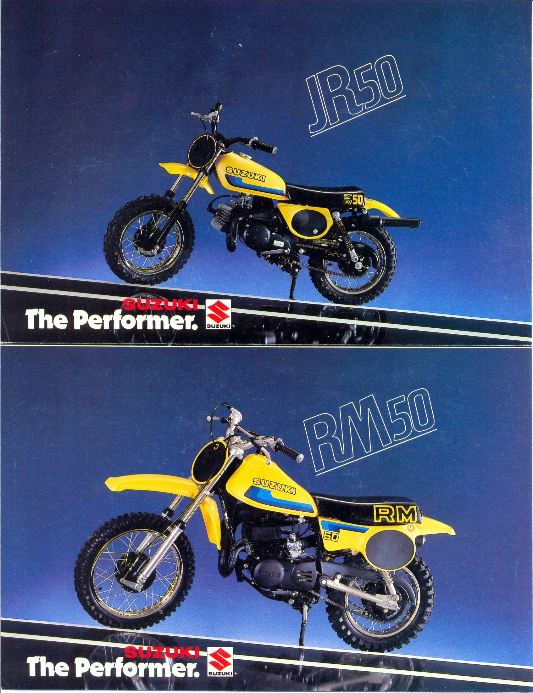 1980 Suzuki Jr50 Rm50t Usa