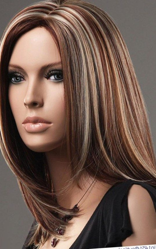 Latest Elegant Synthetic Sweet Long Wig New Super Smooth ...