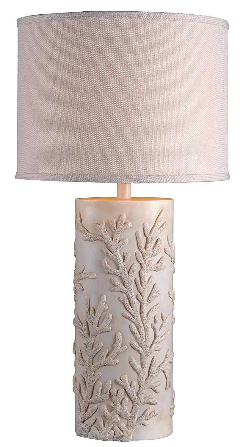 Kenroy coral reef coastal table lamp coastal coral reefs and get the kenroy coral reef coastal table lamp which is a cylinder shaped table lamp aloadofball Image collections