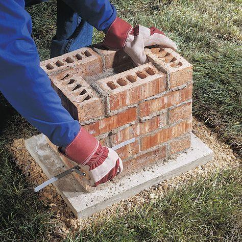 Photo of Build a Brick Pillar
