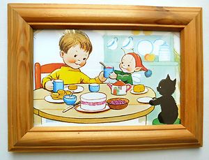 FRAMED MABEL LUCIE ATTWELL PRINT