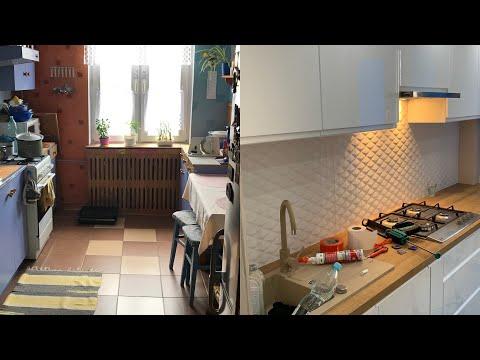 Metamorfoza Remont Kuchni W Bloku Metamorphosis Kitchen Renovation In The Block Youtube Kitchen Renovation Home Renovations