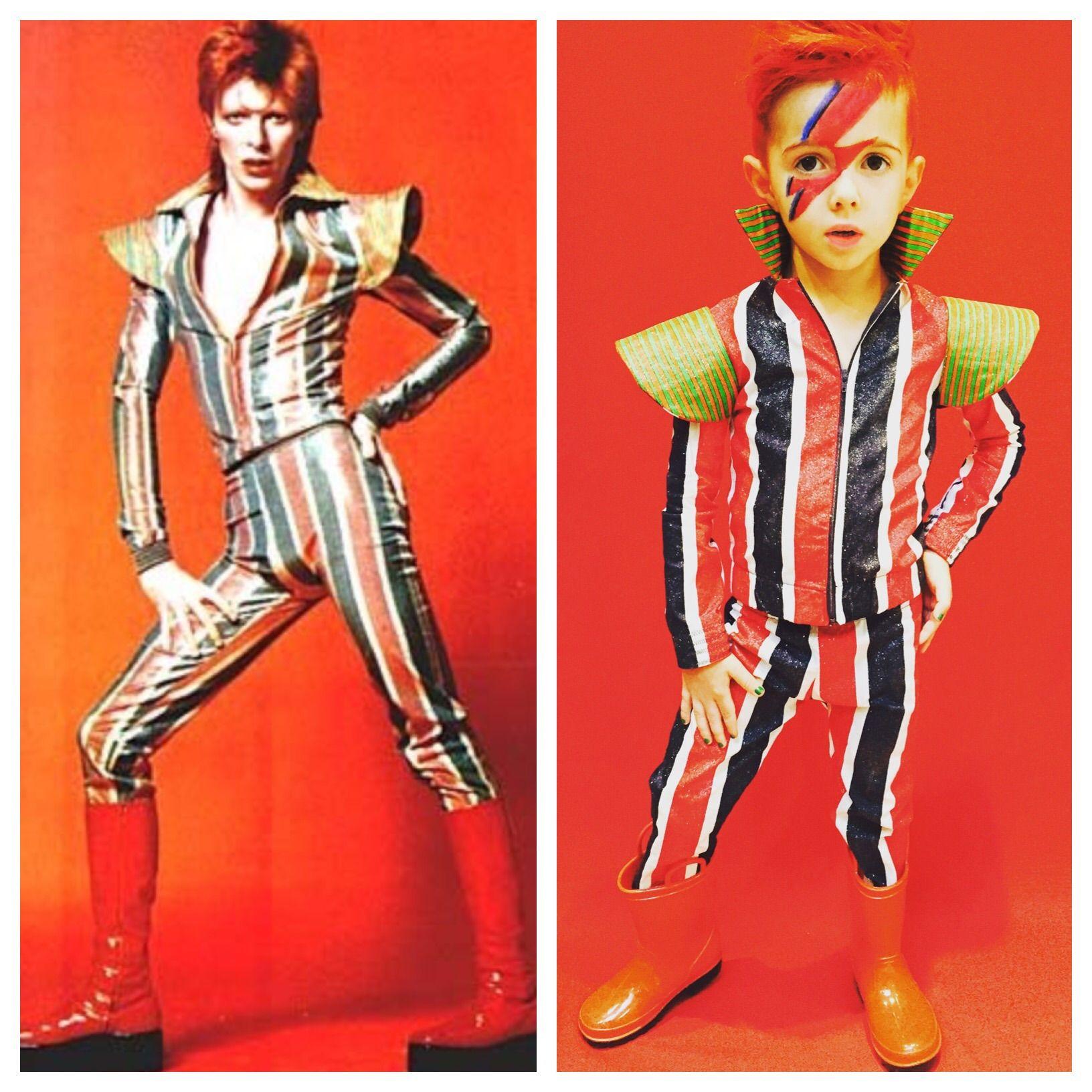 David Bowie Halloween Costume / Ziggy Stardust / Aladdin Sane / Kidu0027s Costume  sc 1 st  Pinterest & David Bowie Halloween Costume / Ziggy Stardust / Aladdin Sane ...