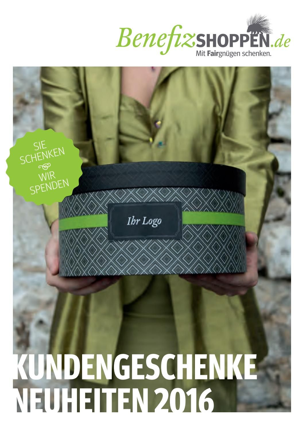 Benefizshoppen Katalog Kundengeschenke 2016 | Kundengeschenke ...