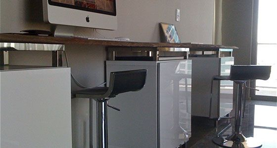 diy office desk ikea kitchen. 50 Killer Ikea Hacks To Transform Your Home Office - OnlineCollege.org Diy Desk Kitchen A
