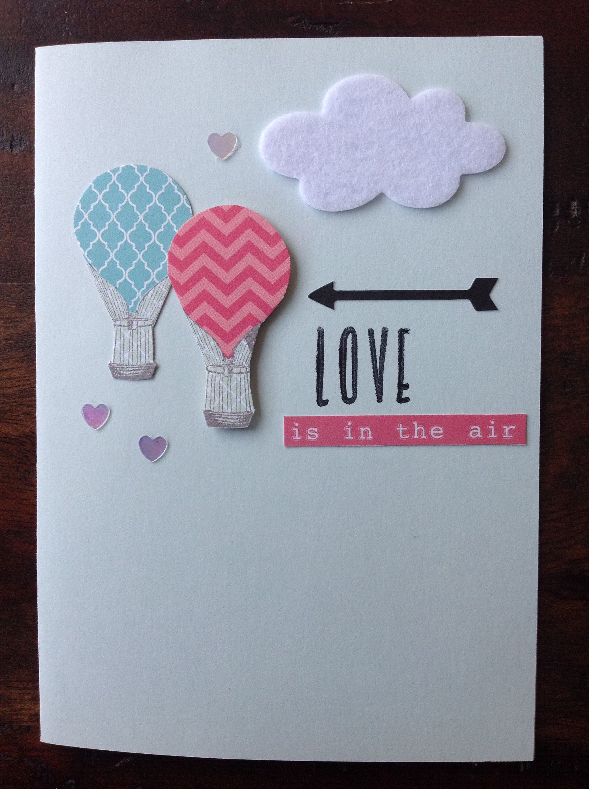 Engagement card love is in the air pinned a similar idea from engagement card love is in the air pinned a similar idea from pinterest kristyandbryce Images