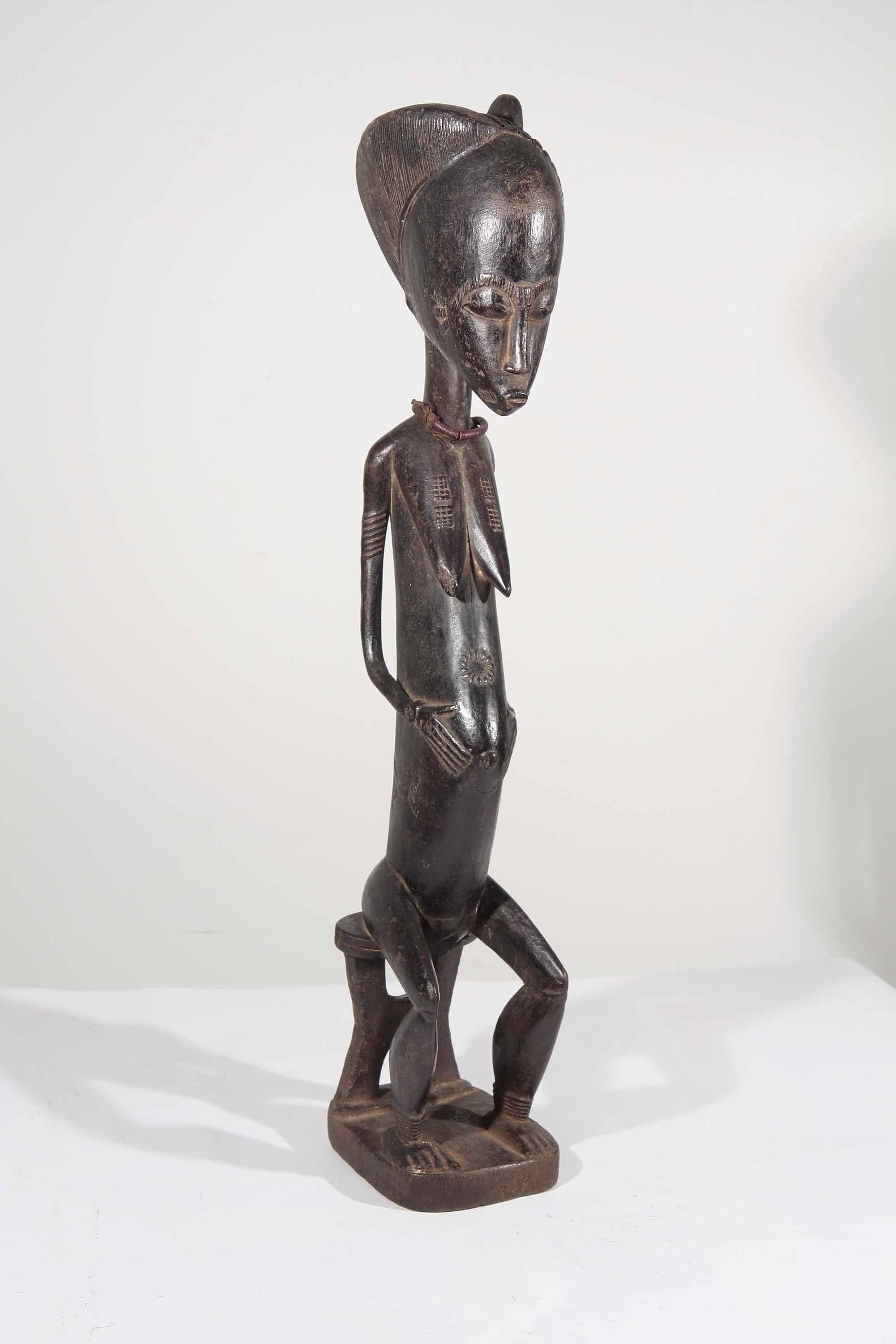 statue africaine baoule