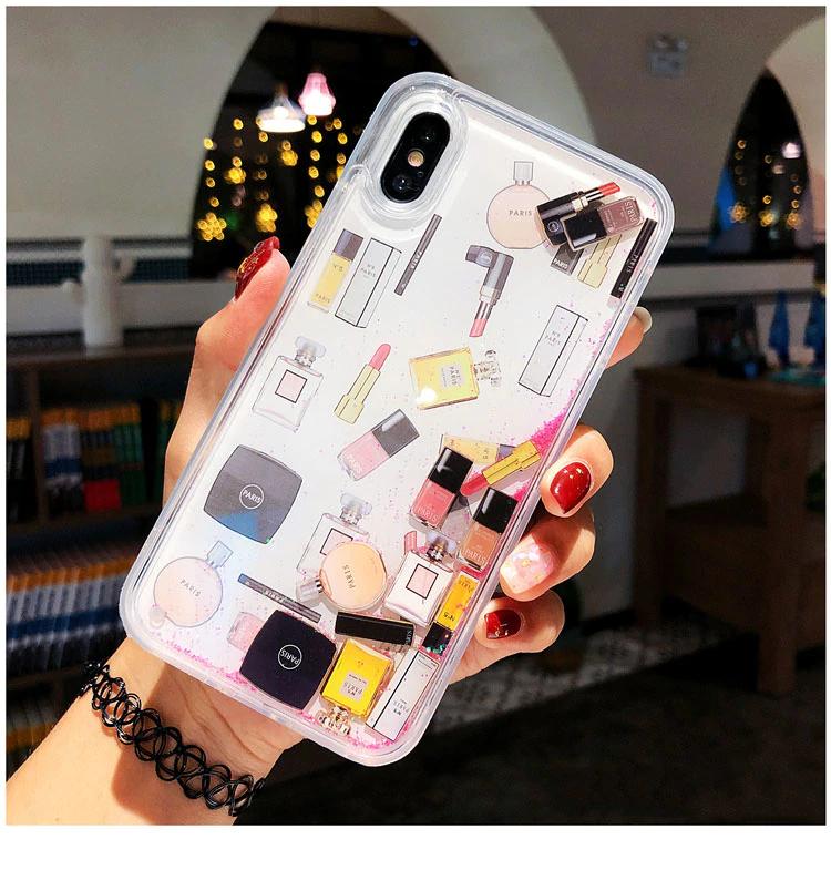 For Samsung S8 S9 S10 Plus Lipstick Perfume Bottle Dynamic