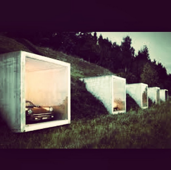 Some old school James Bond style garages | Cool and Classy Carriage