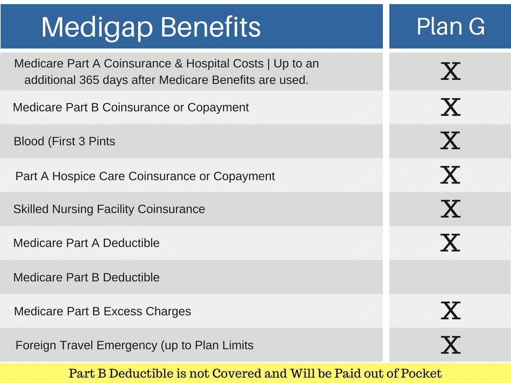 Medigap Benefits Medicare Supplement Plan G | Perfect ...