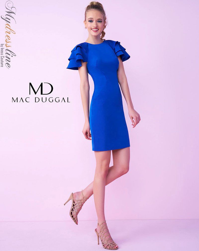 Cool amazing mac duggal c short cocktail dress lowest price