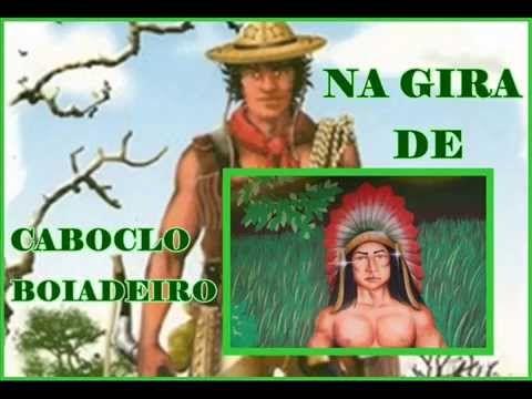 NA GIRA DE CABOCLO E BOIADEIRO - YouTube