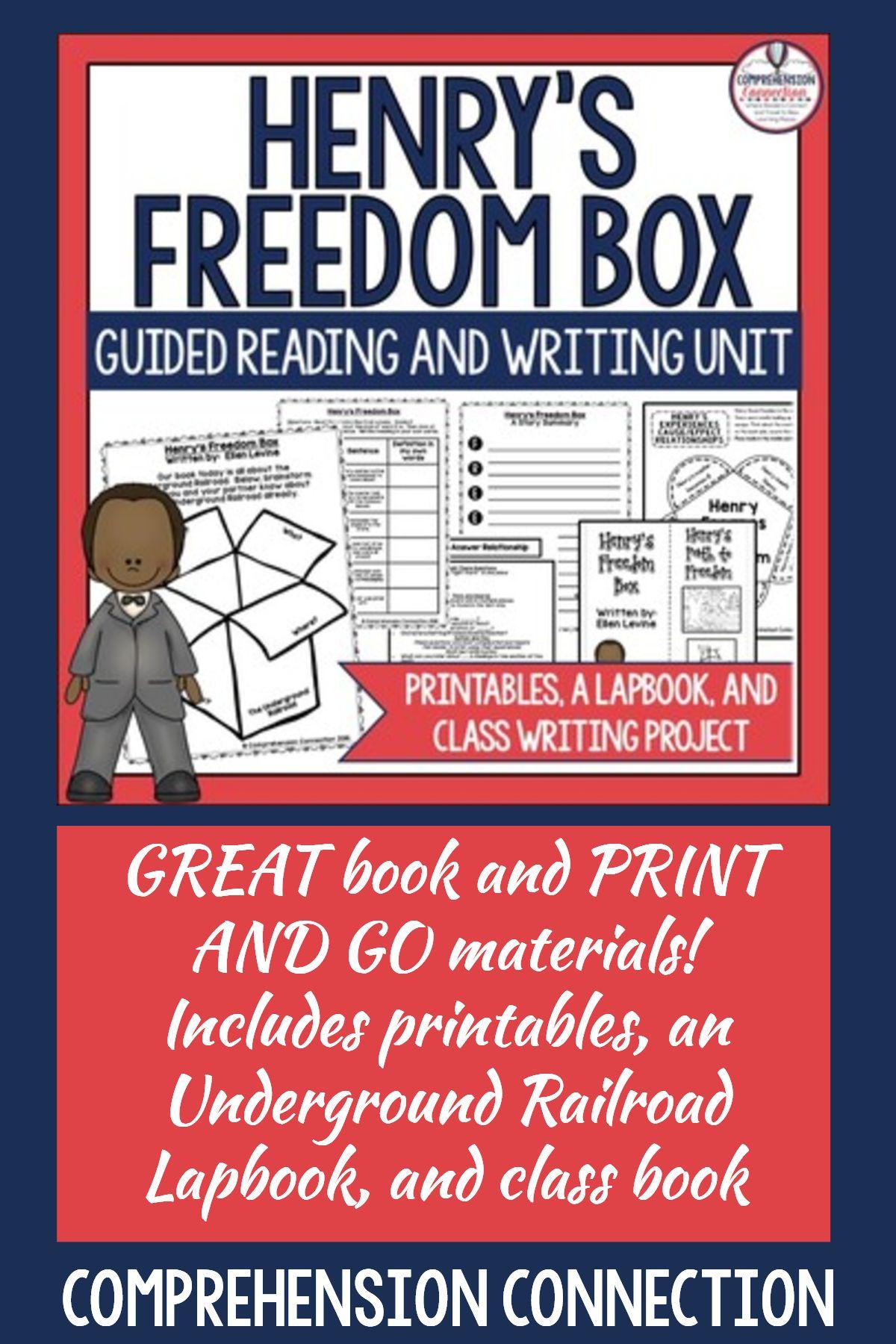 Henry S Freedom Box Activities And Underground Railroad