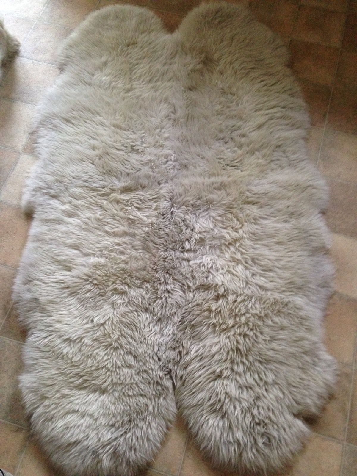 Genuine Sheepskin Rug Home Decor