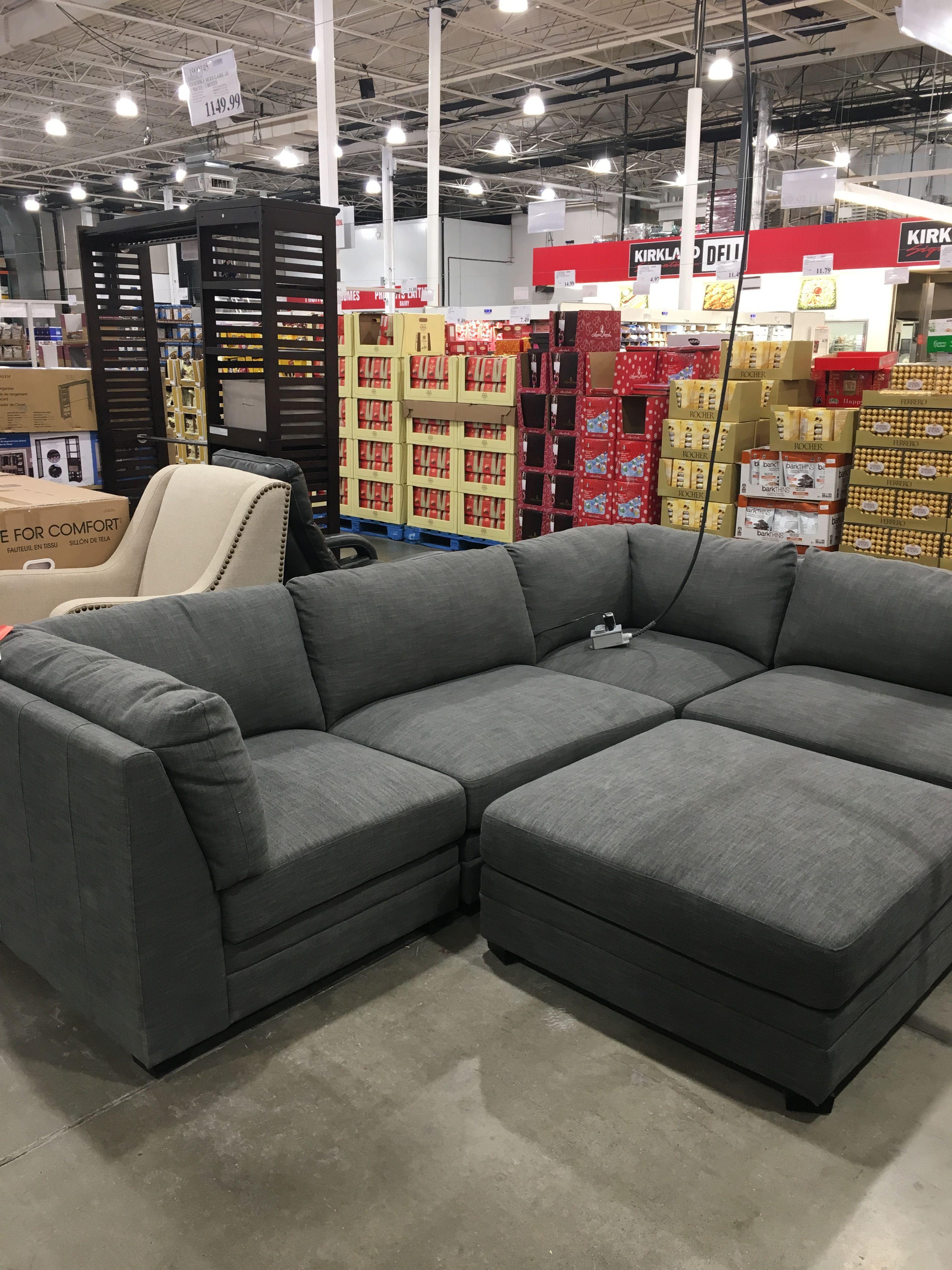 Costco Coffee Table in 2020 Sectional sofa with chaise