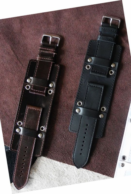 f02d4d35703fe Details about NEW 22mm German Military Aviator Watch Strap Army ...