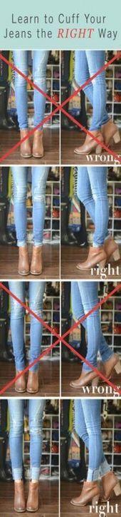 Photo of Wie trage ich Stiefeletten zu einem Kleid? Jeans mit Manschetten 33