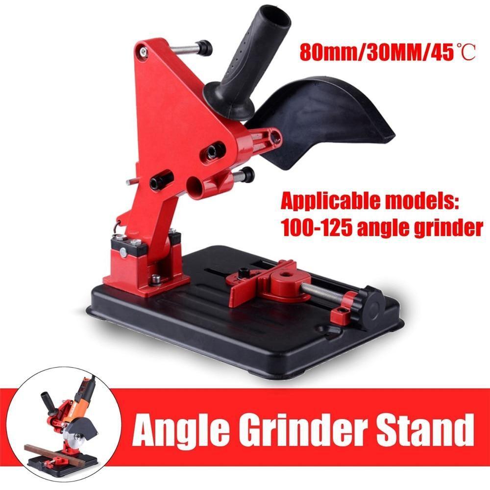 Angle grinder stand angle grinder bracket holder support