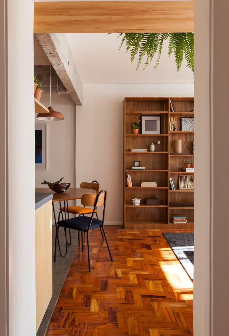 Reformar o antigo apartamento com uma cozinha integrada | Cozinhas  integradas, Home deco, Decoração da sala