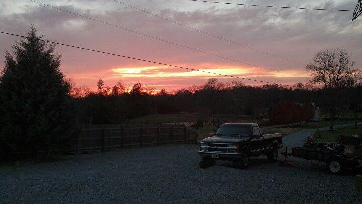 Sunset On Chapel Hill Tn Sunset Favorite Places Chapel