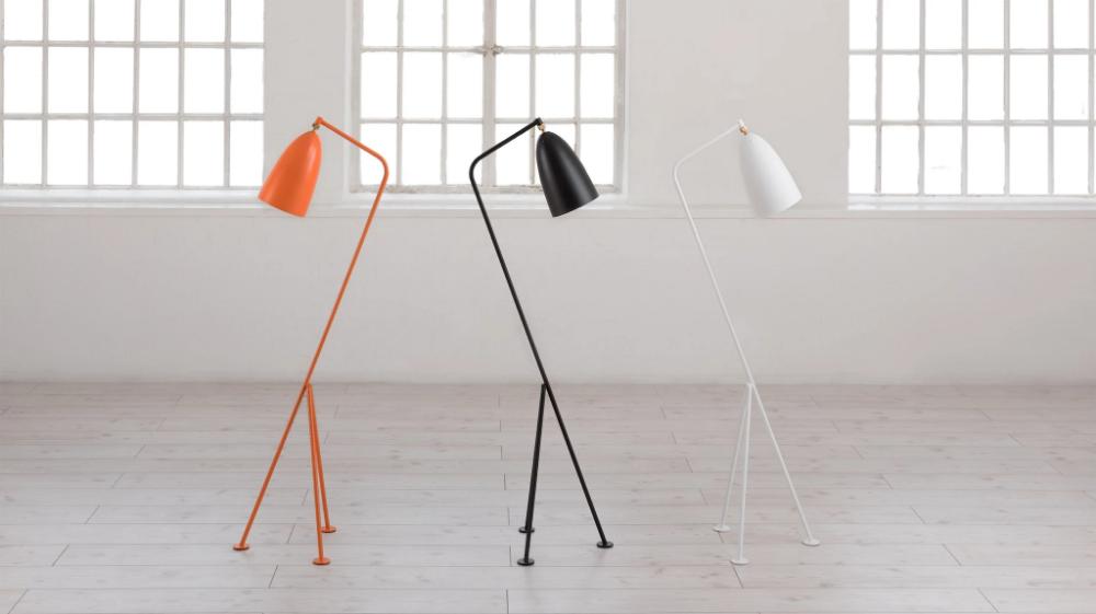 Grasshopper Floor Lamp Greta Grossman Designer Replica Voga