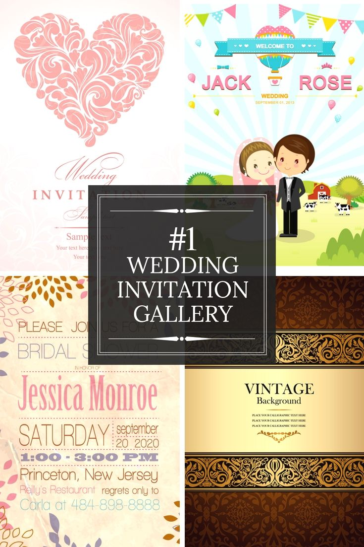Excellent Wedding Invitations Design Template Online For Your Great ...