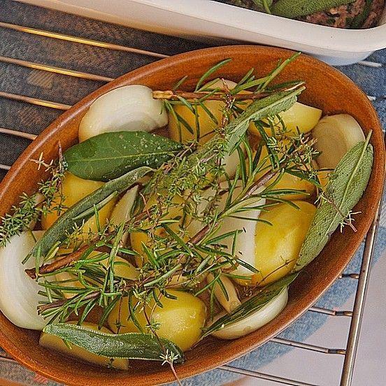 Gebackene Kräuterkartoffeln französische Art | Chefkoch