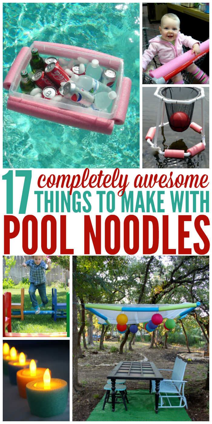 Summer Is Not Complete Without Lots Of Pool Noodles As It Turns Out They Re Great For Much More Check Out All The C Pool Noodles Pool Noodle Crafts Diy Pool