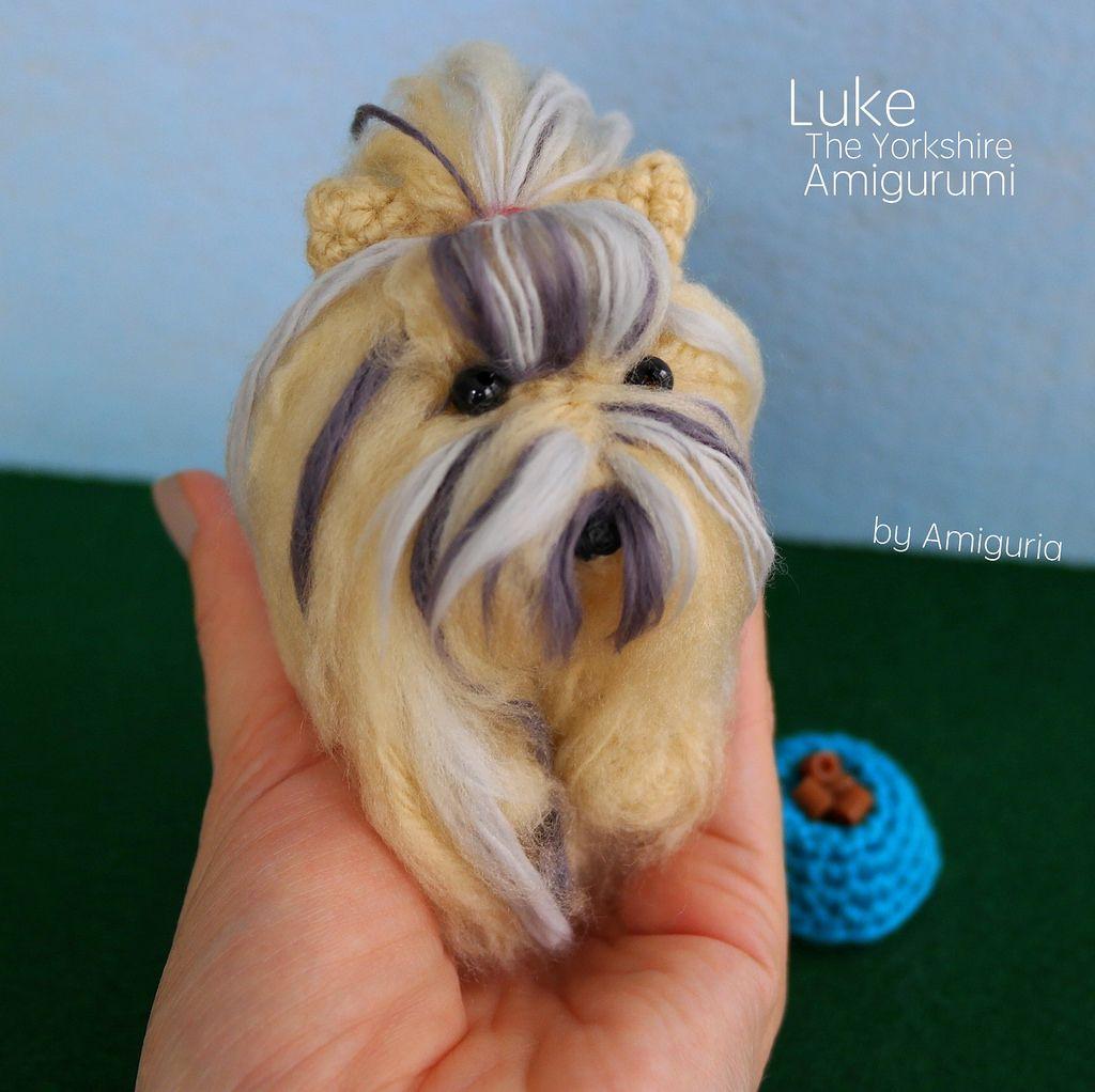 Perro Yorkshire terrier a crochet - Tutorial paso a paso ... | 1022x1024