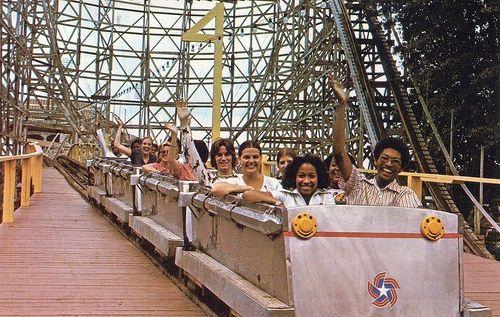 The Zippin Pippin, Libertyland, Memphis, Tenn. - c. late 1970s ...