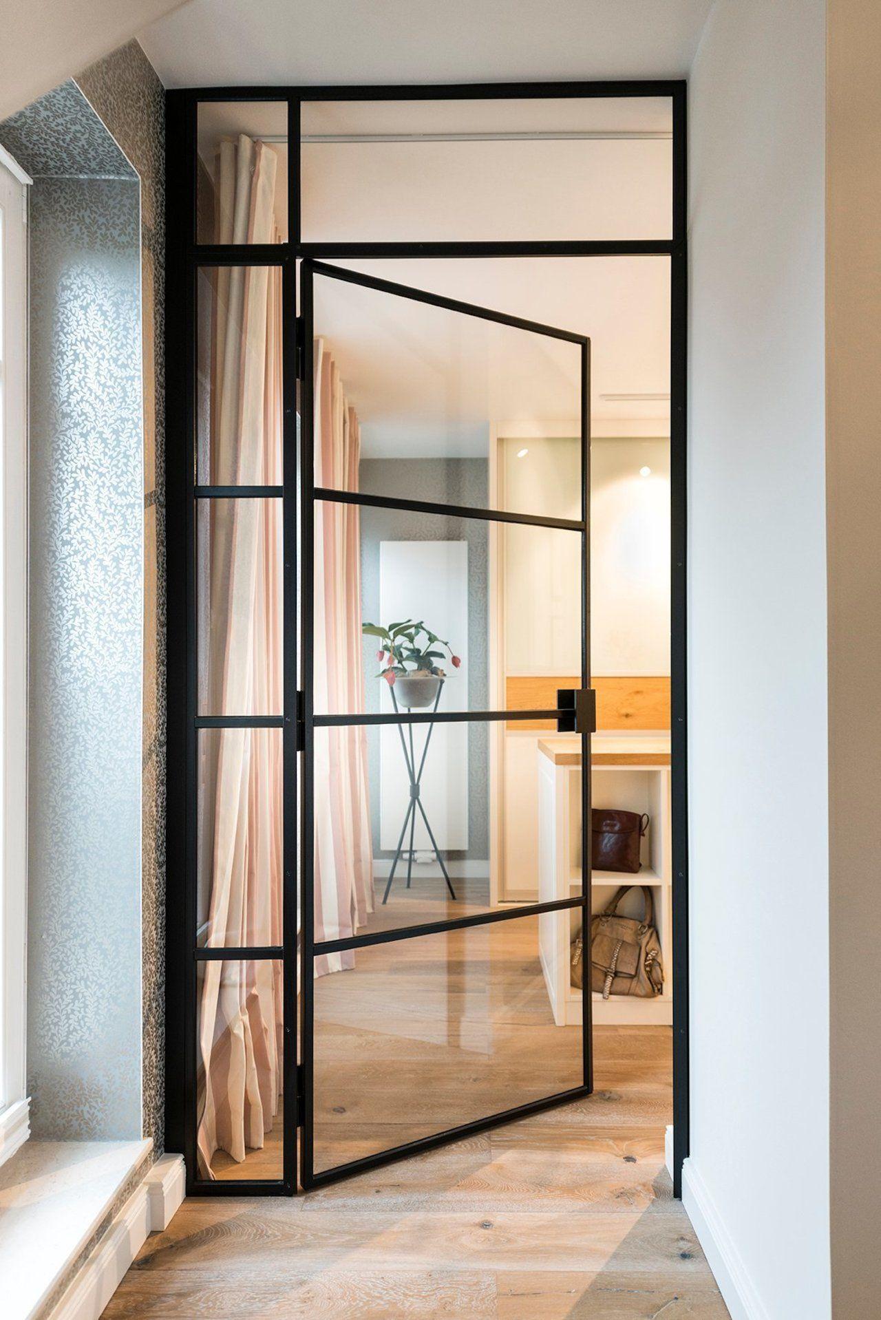 exklusive Stahl-Loft-Tür