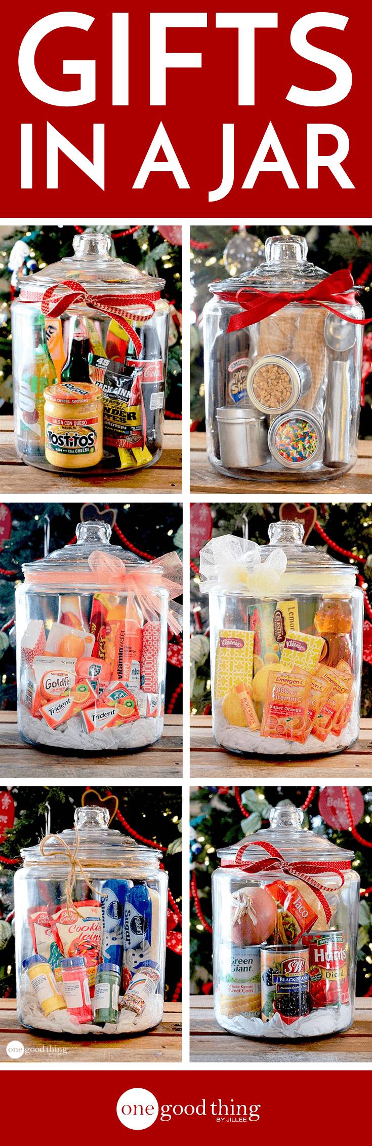 Gifts In A Jar . . . Simple, Inexpensive, and Fun! · Jillee | One ...