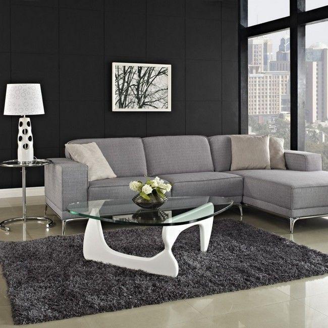 Graue Wände Graue Wände: Möglichkeiten, Graue Wohnzimmer Zu Dekorieren