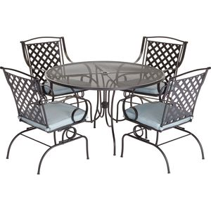 Carlsbad 5 Piece Dining Set Dining Furniture Patio Furniture