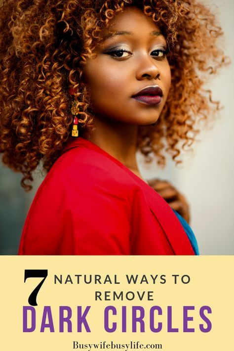 7 Natural Products To Help Fight Dark Circles | Busy Wife Busy Life