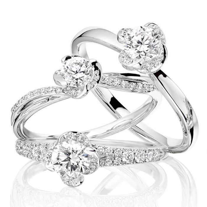 Beaverbrooks Maple Leaf Diamond Rings #Beaverbrooks #Diamonds