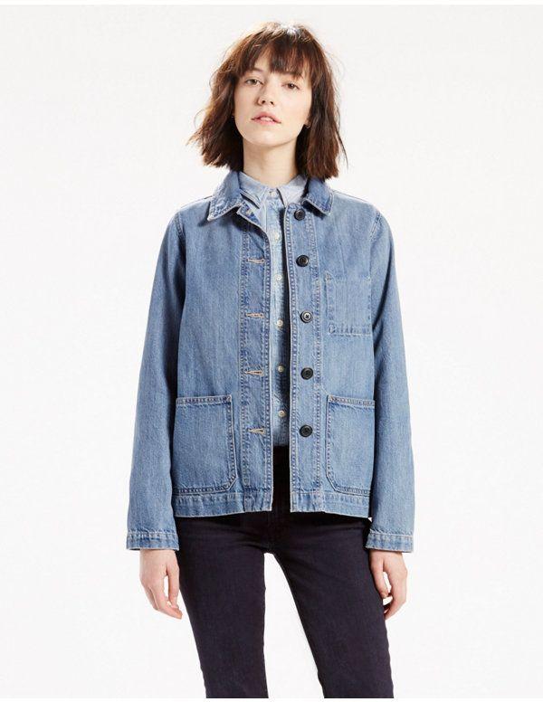 2cc3f3df9969e Workwear Chore Coat | Wearing in 2019 | Jackets, Denim coat, Work ...