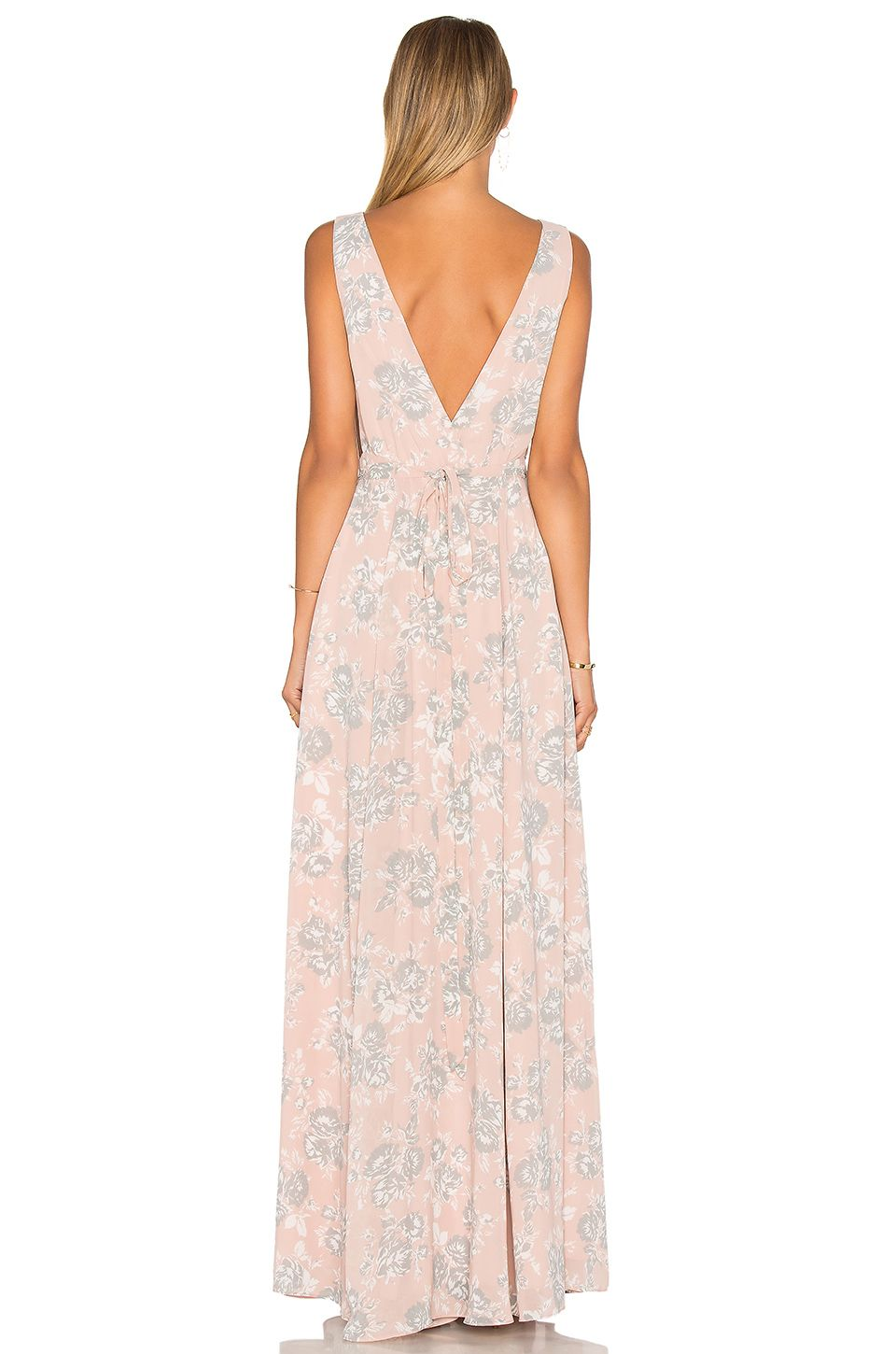 Lovers Friends Leah Gown In Floral Revolve Style Pinterest