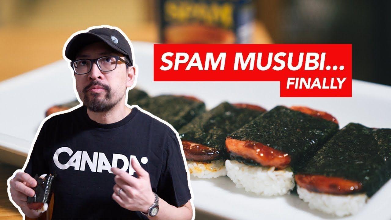 My First Spam Musubi Recipe Vlog Youtube Spam Musubi Musubi Recipe Spam Musubi Recipe
