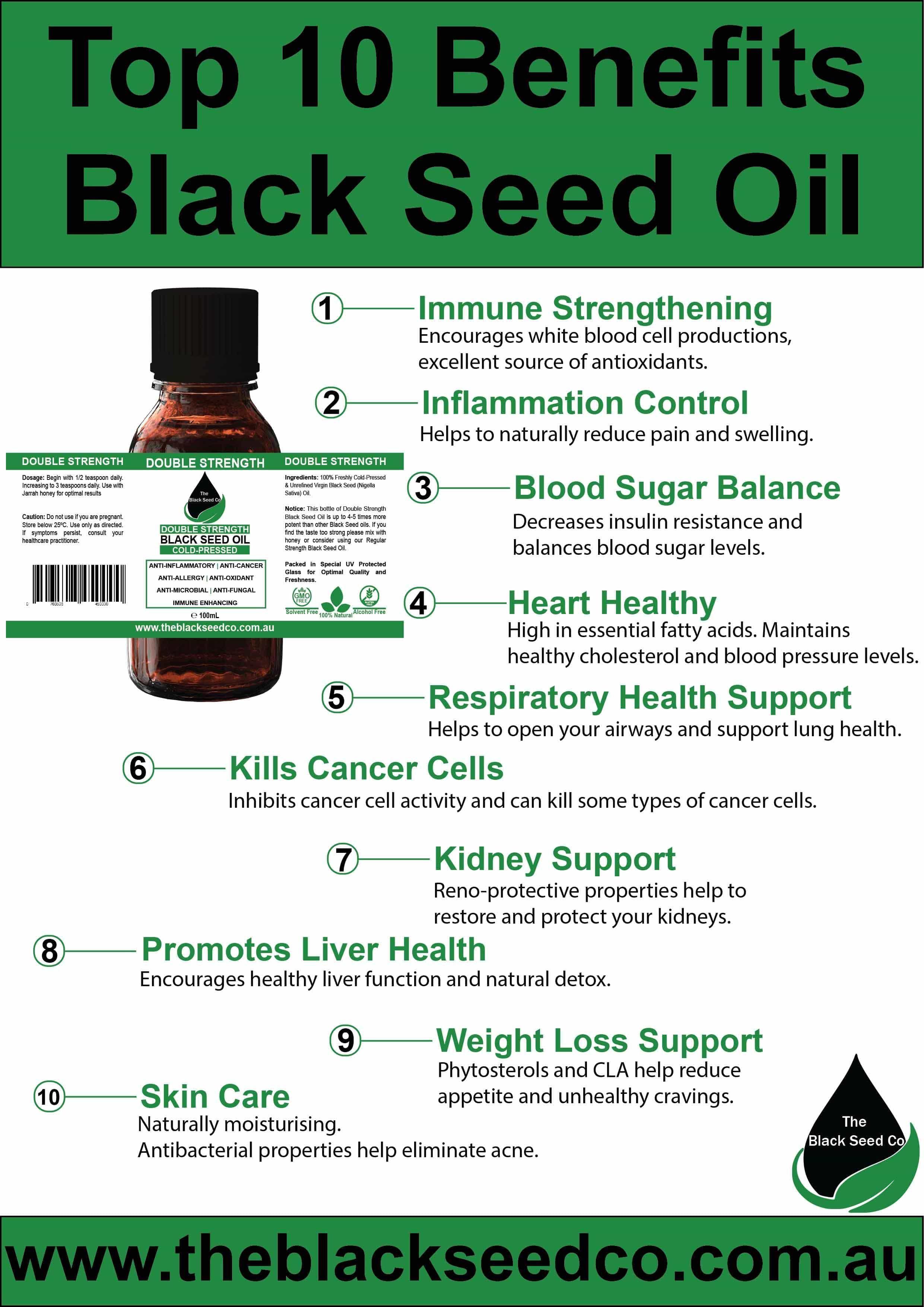 Top 10 Benefits of Black Cumin Seed Oil   Black seed oil