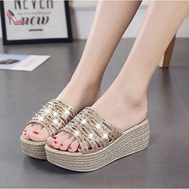 RUGAI-UE Les femmes chaussures d'été Sandales Toe Buckle Shoes,Thirty-Nine Black